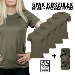 5PAK Damskich Koszulek...