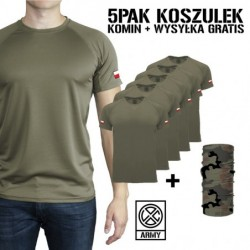 5PAK Męskich Koszulek...