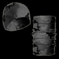 Zestaw - czapka zimowa i komin