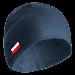 Czapka zimowa (C55) z flagą